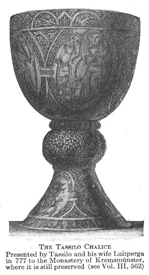 CATHOLIC ENCYCLOPEDIA: Chalice